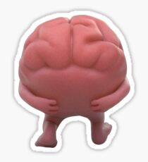Brain Lil Dicky Sticker