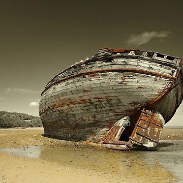 Shipwreck - Dullas Bay by cieniu1