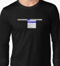 Human: Game of Life v1.0 Long Sleeve T-Shirt