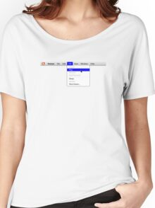 Human: Game of Life v1.0 Women's Relaxed Fit T-Shirt