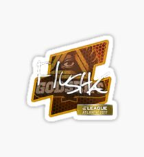 Flusha Eleague Major Atlanta 2017 Sticker