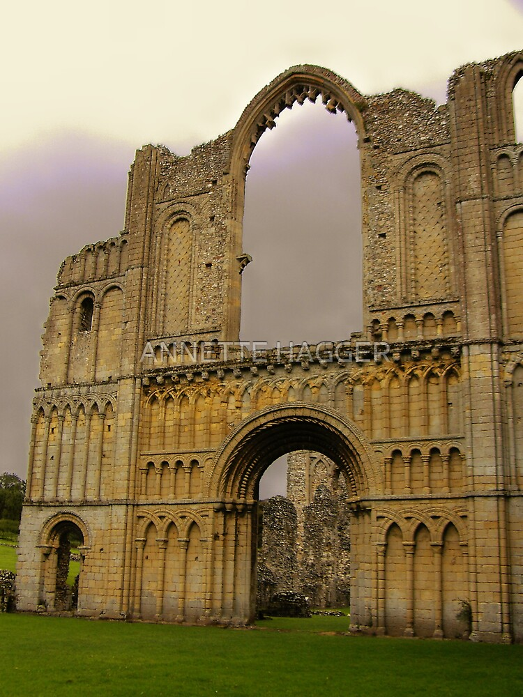 CASTLE ACRE PRIORY RUINS by ANNETTE HAGGER