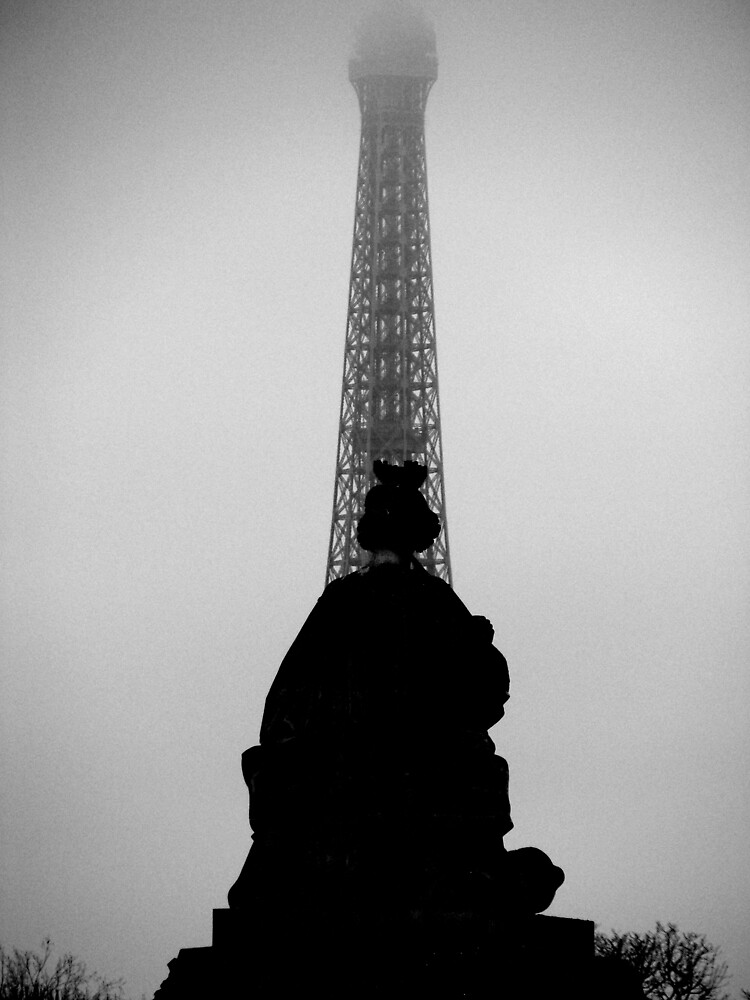 Eifel Tower without point by davi9