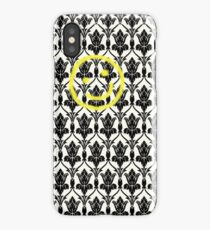 BBC Sherlock 'Bored Smiley Face'  iPhone Case/Skin