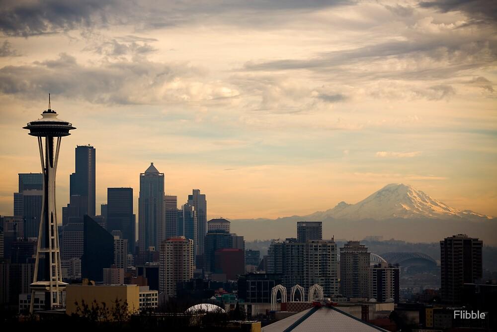 Sleepy Seattle by Flibble