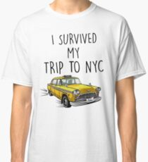 I Survived My Trip To NYC - Spiderman Homecoming Tom Holland Classic T-Shirt