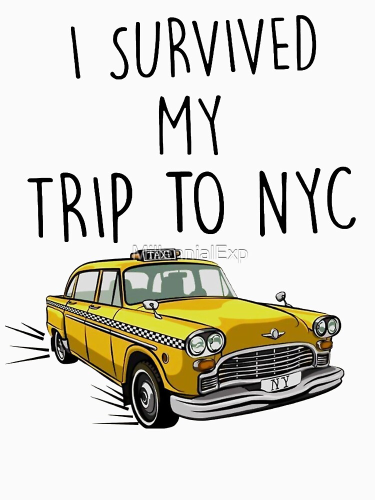 I Survived My Trip To NYC - Spiderman Homecoming Tom Holland by MillSociety