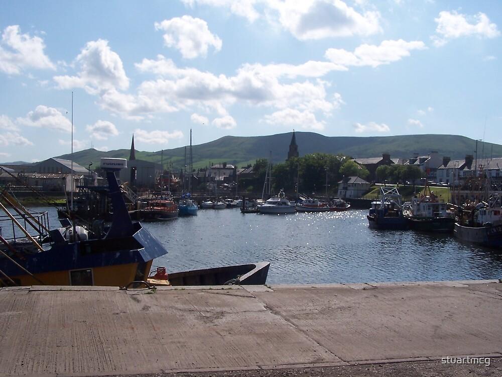 Girvan Harbour by stuartmcg