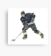 Art ice hockey player Canvas Print