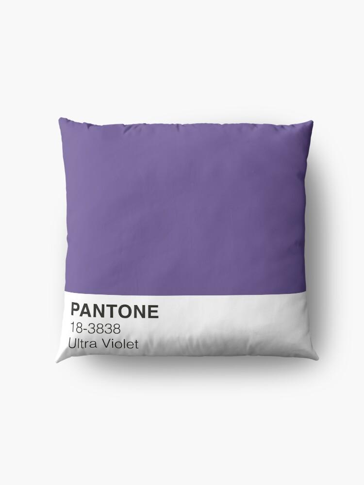 Vista alternativa de Cojines de suelo Ultra Violet Pantone