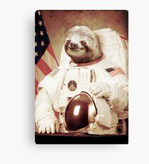 Astronaut Sloth Leinwanddruck