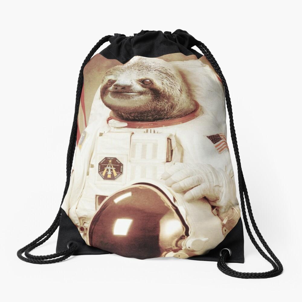 Astronauta Sloth Mochila de cuerdas