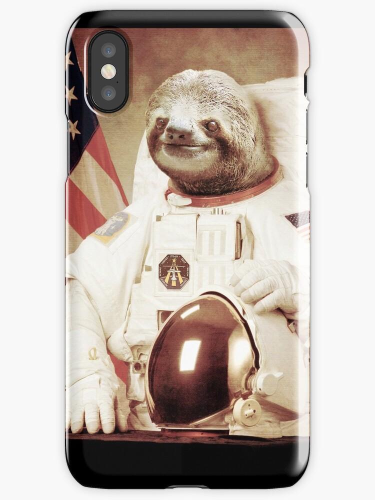 Astronaut Sloth by BakusPT