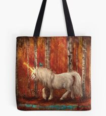 The Year of the Unicorn: Autumn Tote Bag