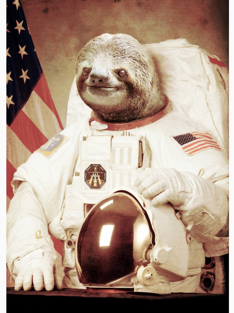 Astronauta Sloth de BakusPT