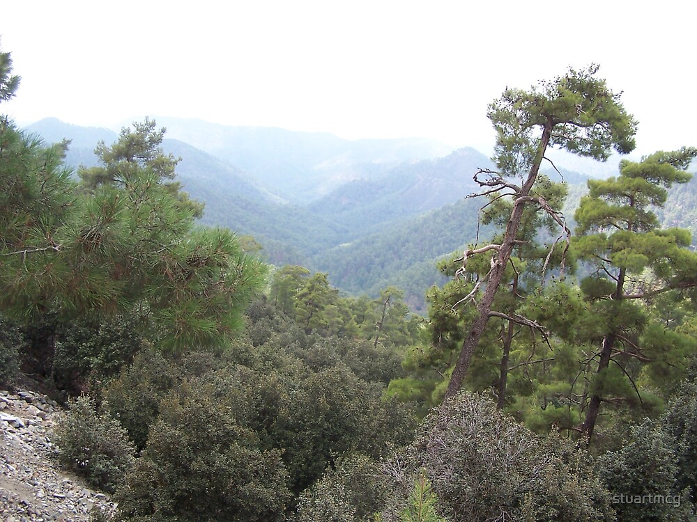 Mountains of Cyprus 1 by stuartmcg