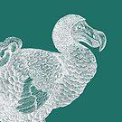 Dodo (Aqua) by MissElaineous Designs