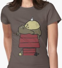 My neighbor Peanut Women's Fitted T-Shirt