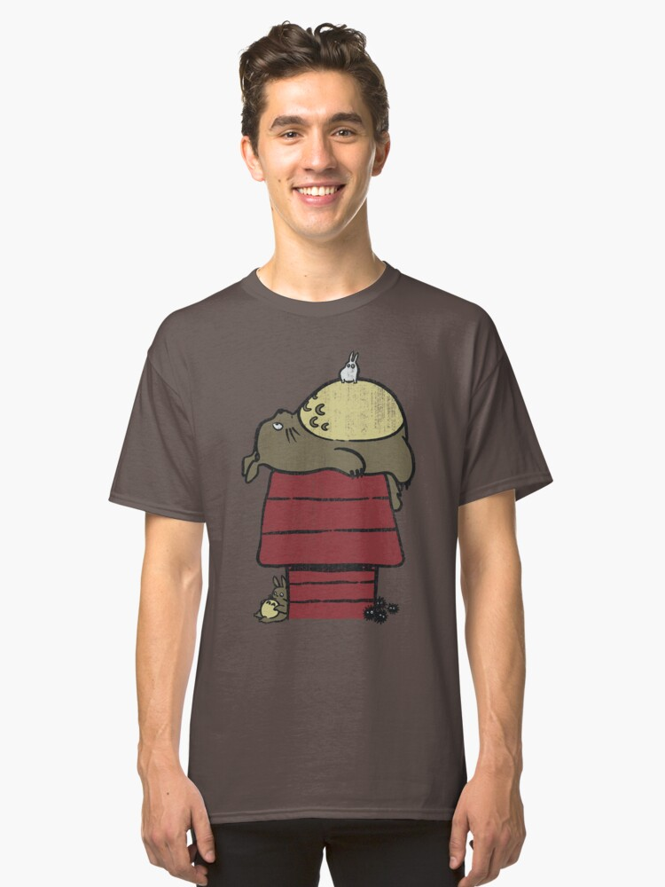 My neighbor Peanut Classic T-Shirt Front