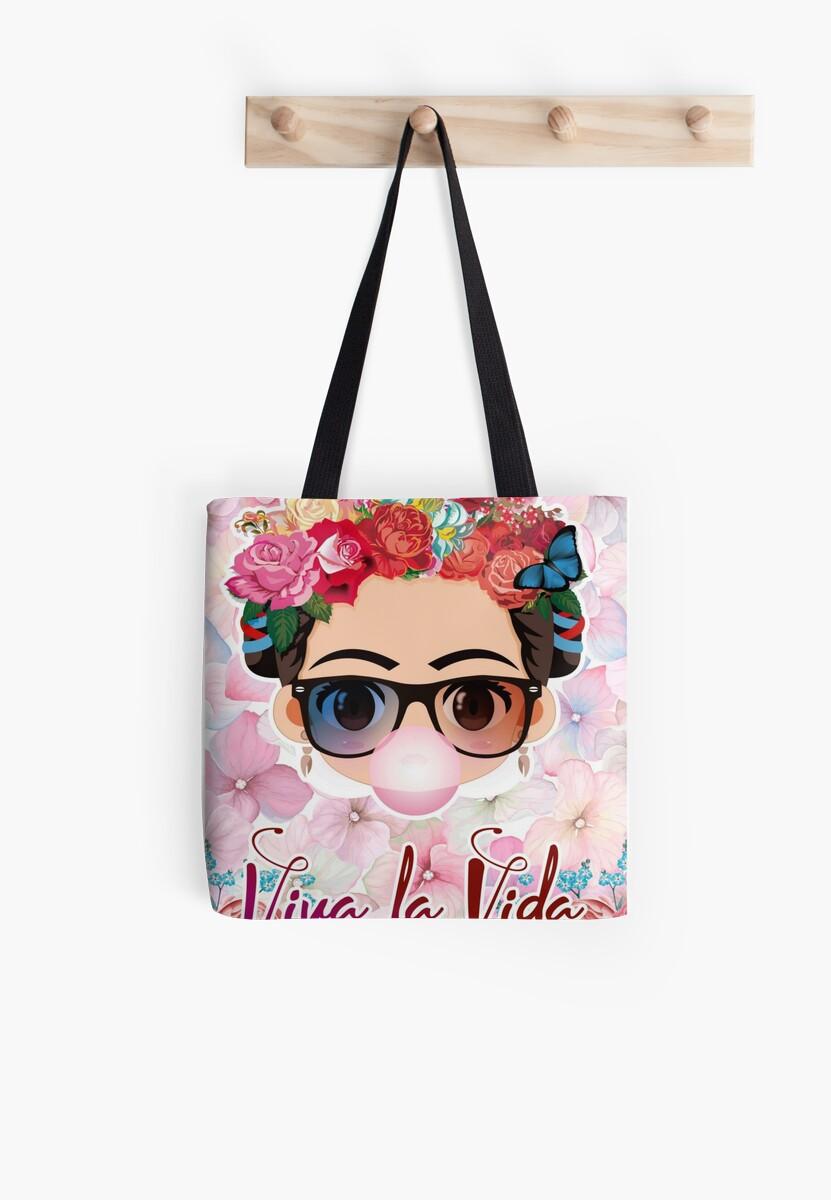 VIDA Tote Bag - Bubble Gum by VIDA teVHRP