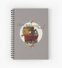 Bear with Me | Beary Much | Whimsical Spiral Notebook