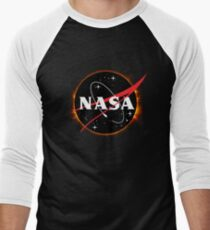 NASA Solar Eclipse Men's Baseball ¾ T-Shirt