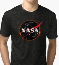 NASA Solar Eclipse Tri-blend T-Shirt