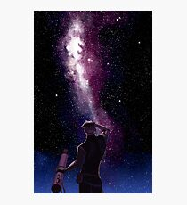 He still loves space Photographic Print