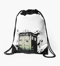 The Tardis Drawstring Bag
