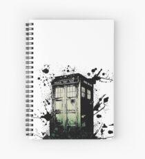 The Tardis Spiral Notebook