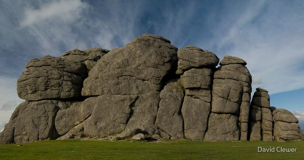 Hay tor rock by David Clewer