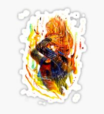 Rachel Amber on Fire - Before the Storm - Life is Strange 1.5 Sticker