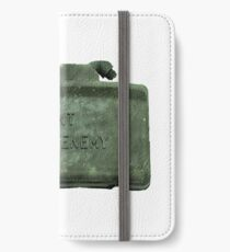 """Front Toward Enemy""  iPhone Wallet/Case/Skin"