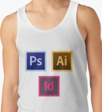 Adobe Icon Pack 1 Tank Top