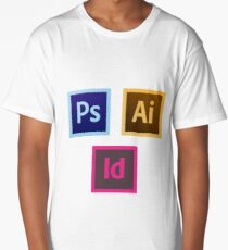 Adobe Icon Pack 1 Long T-Shirt
