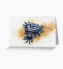 Sea Lizard (Glaucus atlanticus) Greeting Card