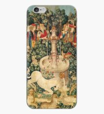 UNICORN IS FOUND / Fountain,Other Animals,Green Floral iPhone Case
