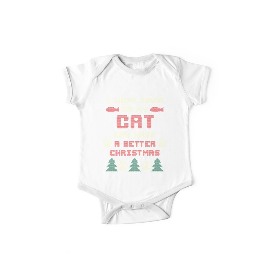 e03232cef9415d Ugly Christmas Sweater Shirt for Cat Lovers