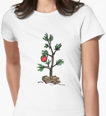 Charlie Brown's Christmas Tree Women's Fitted T-Shirt