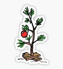 Charlie Brown's Christmas Tree Sticker