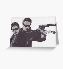 Boondock Saints Greeting Card