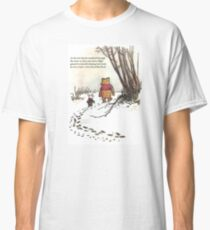 winnie the pooh famous quote piglet Classic T-Shirt