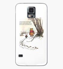 Funda/vinilo para Samsung Galaxy cochinillo famoso de la cita de winnie the pooh