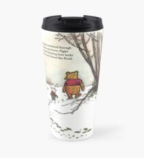 winnie the pooh famous quote piglet Travel Mug