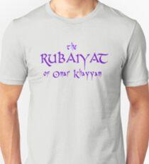 The Rubaiyat of Omar Khayyam Unisex T-Shirt
