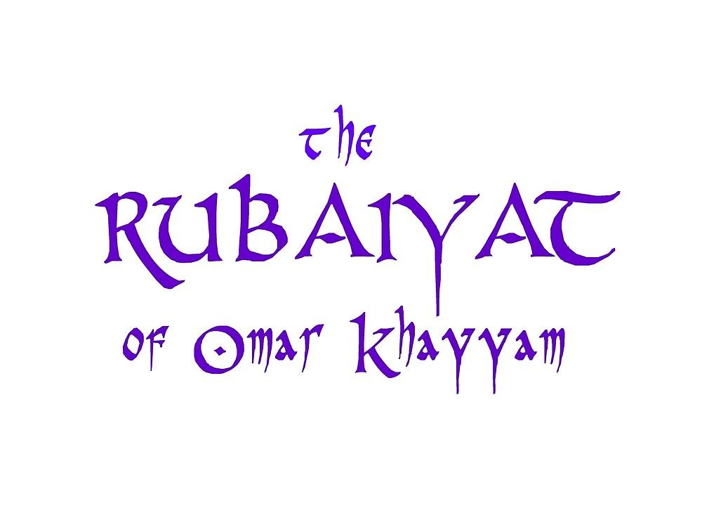 El Rubaiyat De Omar Khayyam De Eccentrica Redbubble