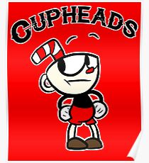 Seven Cup Cupheads T-Shirt Poster