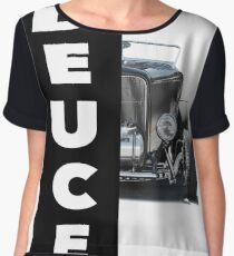 1932 Ford 'Black Deuce' Roadster Women's Chiffon Top
