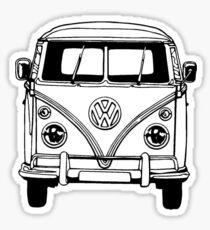 Volkswagen VW Bus Van Sticker