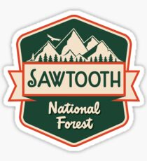 Sawtooth National Forest Sticker